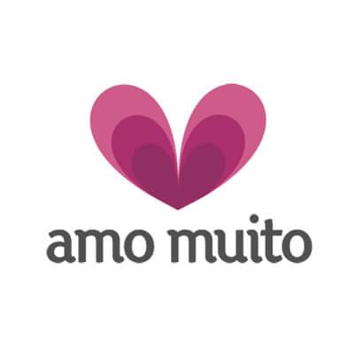 Amo Muito logo