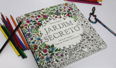 Livros de colorir conquistam adultos