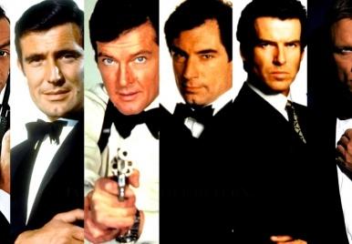 Confira a evolução da franquia James Bond