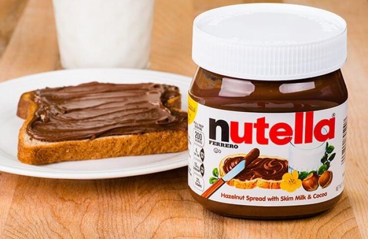 A História da Nutella