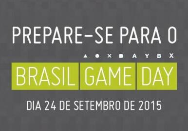 Brasil Game Day: você não vai querer perder!