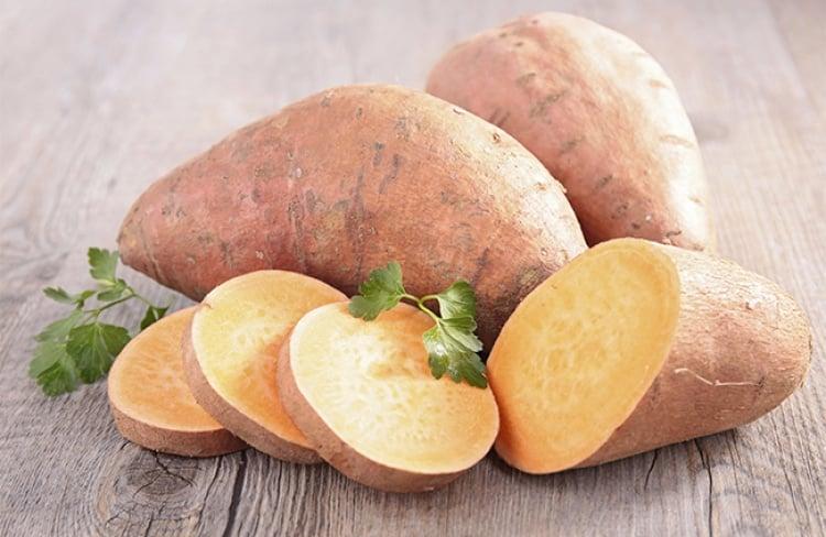 Como fazer batata doce no microondas