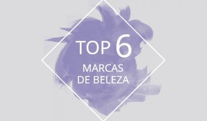 Top 6 marcas de beleza